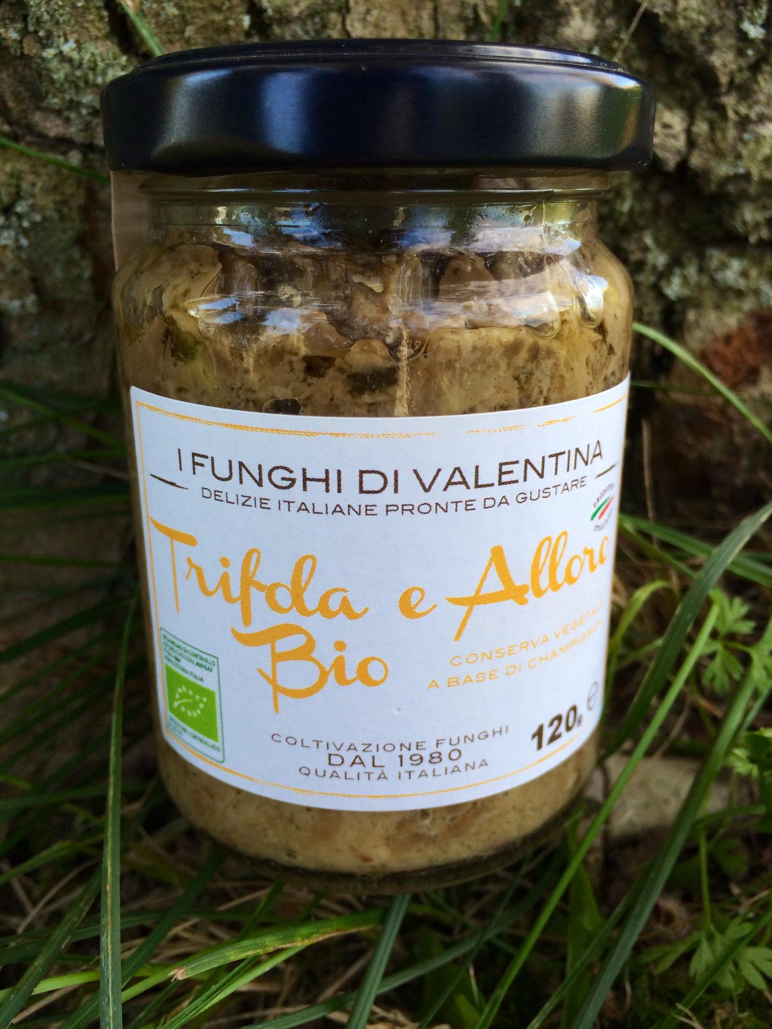 conserva vegetale a base di champignon